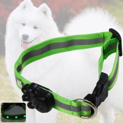 2.5cm LED Nylon Safety Pet Collar
