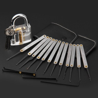 Transparent Skill Training Padlock Set
