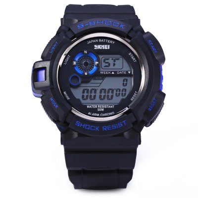 Skmei 0939 Multifunction Sports LED Watch 50M Water Resistant