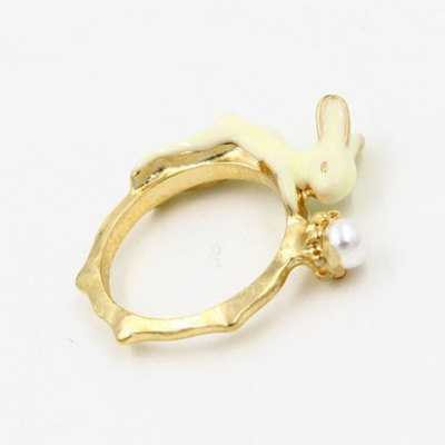 Chic Bunny Shape Cuff Ring For WomenRings<br>Chic Bunny Shape Cuff Ring For Women<br><br>Gender: For Women<br>Metal Type: Alloy<br>Style: Trendy<br>Shape/Pattern: Animal<br>Diameter: 1.7CM<br>Weight: 0.030KG<br>Package Contents: 1 x Ring