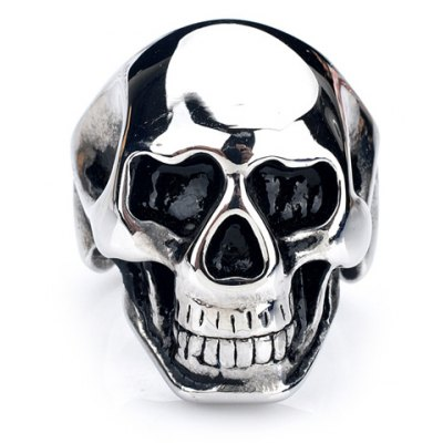 Characteristic Skull Stainless Steel Ring