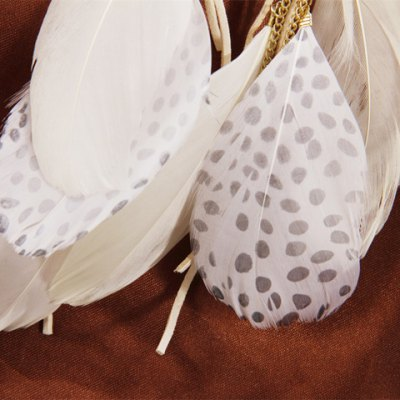 Pair of Trendy Feather Tassels Earrings For WomenEarrings<br>Pair of Trendy Feather Tassels Earrings For Women<br><br>Earring Type: Drop Earrings<br>Gender: For Women<br>Style: Trendy<br>Shape/Pattern: Feather<br>Length: 15CM<br>Weight: 0.040KG<br>Package Contents: 1 x Earring(Pair)