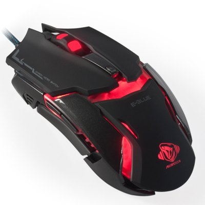 E-BLUE EMS618 Optical Gaming MouseMouse<br>E-BLUE EMS618 Optical Gaming Mouse<br><br>Model: EMS618<br>Type: Mouse<br>Features: Novelty,Gaming<br>Material: ABS<br>Color: Black,White<br>System support: Windows XP,Windows 7,Windows 8,Windows Vista,Mac OS,Windows<br>Interface: Wired<br>Connection: USB2.0<br>Product weight: 0.138KG<br>Package weight: 0.270 KG<br>Product size (L x W x H): 12.40 x 4.00 x 6.40 cm / 4.88 x 1.57 x 2.52 inches<br>Package size (L x W x H): 15.20 x 10.90 x 4.80 cm / 5.98 x 4.29 x 1.89 inches<br>Package Contents: 1 x E-BLUE EMS618 Optical Gaming Mouse