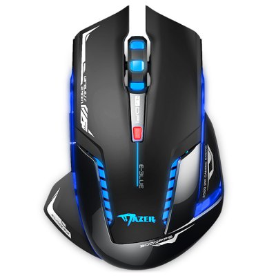 E-BLUE EMS601 7 Button Wireless LED Flashing Optical Gaming Mouse