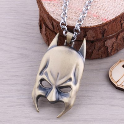 Delicate Batman Mask Pendant NecklaceNecklaces &amp; Pendants<br>Delicate Batman Mask Pendant Necklace<br><br>Item Type: Pendant Necklace<br>Gender: Unisex<br>Style: Trendy<br>Shape/Pattern: Others<br>Length: 60CM<br>Weight: 0.100KG<br>Package Contents: 1 x Necklace