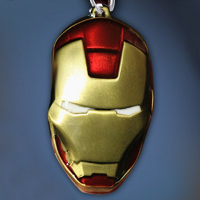 Fashionable The Avengers Iron Man Mask NecklaceNecklaces &amp; Pendants<br>Fashionable The Avengers Iron Man Mask Necklace<br><br>Item Type: Pendant Necklace<br>Gender: Unisex<br>Style: Trendy<br>Shape/Pattern: Others<br>Length: 50CM<br>Weight: 0.090KG<br>Package Contents: 1 x Necklace