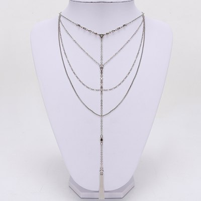 Stylish Solid Color Necklace For Women