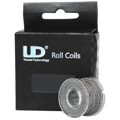 Original Youde 10 Meters 28AWG 0.3mm x 2 Double Wires Twisted Kanthal Resistance Wire Roll E - cigarette Coils for Atomizers DIY