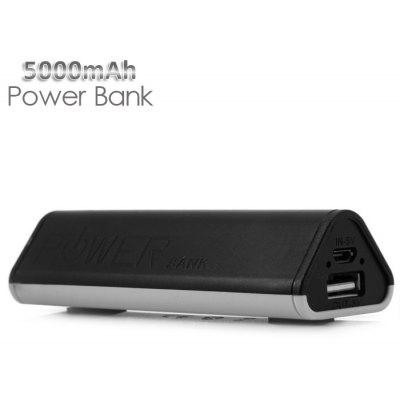 Protable 5000mAh Suction Cup Design Mobile Power Bank Battery Charger