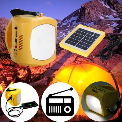N710 Multi-use 3 in 1 USB Solar Light