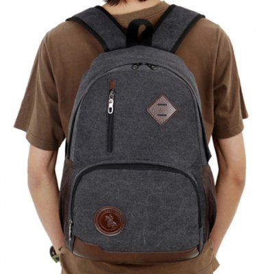Stylish Color Block and Zipper Design Mens Canvas BagMens Bags<br>Stylish Color Block and Zipper Design Mens Canvas Bag<br><br>Backpack Usage: Daily Backpack<br>Backpacks Type: Softback<br>Closure Type: Zipper<br>Pattern Type: Patchwork<br>Main Material: Canvas<br>Gender: For Men<br>Weight: 1.200KG<br>Package Contents: 1 x Backpack<br>Length: 30CM<br>Width: 16CM<br>Height: 45CM