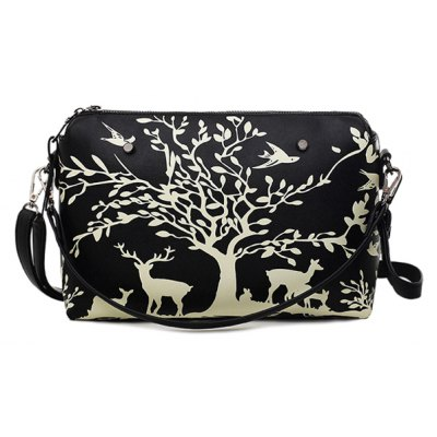 Zipper Design Crossbody Bag For Women