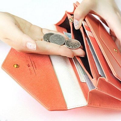 Elegant Solid Color and Metal Design Womens WalletWomens Wallets<br>Elegant Solid Color and Metal Design Womens Wallet<br><br>Wallets Type: Clutch Wallets<br>Gender: For Women<br>Style: Fashion<br>Closure Type: Hasp<br>Pattern Type: Solid<br>Main Material: PU<br>Length: 19CM<br>Width: 2.5CM<br>Height: 9.5CM<br>Weight: 0.199KG<br>Package Contents: 1 x Wallet