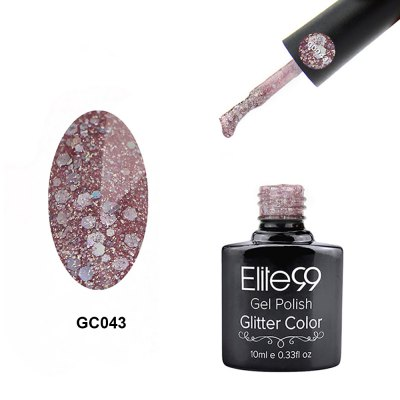 10ml Glitter Color Gel Polish