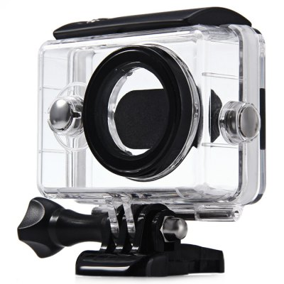 40M Waterproof Case for Xiaomi Yi Action CameraAction Cameras &amp; Sport DV Accessories<br>40M Waterproof Case for Xiaomi Yi Action Camera<br><br>Apply to Brand: Xiaomi<br>Compatible with: Xiaomi Yi<br>Accessory type: Protective Cases/Housing<br>Waterproof: Yes<br>Product weight: 0.072 kg<br>Package weight: 0.101 kg<br>Product size (L x W x H): 7.00 x 8.00 x 5.00 cm / 2.76 x 3.15 x 1.97 inches<br>Package size (L x W x H): 11.00 x 9.00 x 5.00 cm / 4.33 x 3.54 x 1.97 inches<br>Package Contents: 1 x Waterproof Case for Xiaomi Yi Action Camera