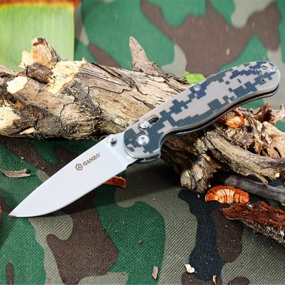 Ganzo G727M - CA Folding Knife with Axis Lock and Clip