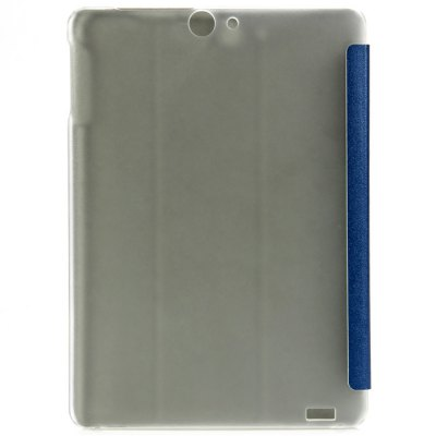 Plastic + PU Leather Protective CaseTablet Accessories<br>Plastic + PU Leather Protective Case<br><br>Available Color: Black,Blue,White<br>Features: Cases with Stand, Full Body Cases<br>Material: Plastic, PU Leather<br>Package size (L x W x H): 24.50 x 17.70 x 1.30 cm / 9.65 x 6.97 x 0.51 inches<br>Package weight: 0.227 kg<br>Product size (L x W x H): 24.30 x 17.50 x 1.10 cm / 9.57 x 6.89 x 0.43 inches<br>Product weight: 0.173 kg<br>Style: Transparent