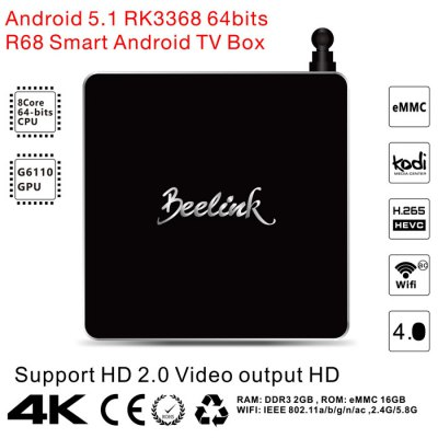 Beelink R68 TV Box RK3368 Android 5.1