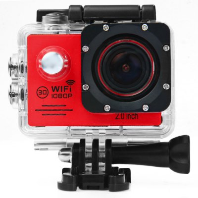 SJ7000 Waterproof Sport Video CamcorderAction Cameras<br>SJ7000 Waterproof Sport Video Camcorder<br><br>Model: SJ7000<br>Type: Sports Camera<br>Chipset Name: Novatek<br>Chipset: Novatek 96655<br>System requirements: Mac OS x 10.3.6 above,Win 7,Windows 2000 / XP / Vista<br>Max External Card Supported: TF 32G (not included)<br>Class Rating Requirements: Class 10 or Above<br>Screen size: 2.0inch<br>Screen type: LCD<br>Screen resolution: 960 x 240<br>Battery Type: Removable<br>Charge way: AC adapter,USB charge by PC<br>Working Time: About 90 minutes 1080P 30fps<br>Decode Format: H.264<br>Video format: MOV<br>Video Resolution: 1080P(30fps),720P (60fps)<br>Video Frame Rate: 30FPS,60FPS<br>Video System: NTSC,PAL<br>Video Output : HDMI<br>Image Format : JPG<br>Exposure Compensation: +1,+1/3,+2,+4/3,+5/3,-1,-1/3,-2,-2/3,-4/3,-5/3,0,2/3<br>White Balance Mode: Auto,Cloudy,Daylight,Fluorescent,Tungsten<br>Microphone: Built-in<br>WIFI: Yes<br>Waterproof: Yes<br>Water Resistant: 30m<br>Loop-cycle Recording : Yes<br>Motion Detection: Yes<br>Night vision : No<br>HDMI Output: Yes<br>Camera Timer: No<br>Time lapse: No<br>Auto Focusing: No<br>Anti-shake: No<br>Aerial Photography: No<br>Interface Type: HDMI,Micro USB<br>Language: English,French,Italian,Polski,Russian,Simplified Chinese,Spanish<br>Product weight: 0.1560 kg<br>Package weight: 0.5870 kg<br>Product size (L x W x H): 8.00 x 8.00 x 4.00 cm / 3.15 x 3.15 x 1.57 inches<br>Package size (L x W x H): 28.00 x 18.00 x 7.00 cm / 11.02 x 7.09 x 2.76 inches<br>Package Contents: 1 x Sports Camera, 1 x USB Cable, 2 x 3M Double-sided Adhesive, 1 x EU Charger Adapter, 1 x Steel Wire Rope, 4 x Ribbon, 4 x Bandage, 1 x Waterproof Back Cover, 10 x Install Accessories, 1 x English-C