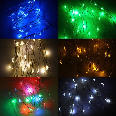 Christmas 2m x 20 LED String LightLED Strips<br>Christmas 2m x 20 LED String Light<br><br>Type: LED String<br>Features: Low Power Consumption<br>Number of LEDs: 20<br>Optional Light Color: Blue,Cold White,Green,RGB,Warm White,Yellow<br>Input Voltage: 4.5V<br>Material: PC<br>Product weight: 0.035 kg<br>Package weight: 0.092 kg<br>Product size (L x W x H): 7.00 x 7.50 x 1.80 cm / 2.76 x 2.95 x 0.71 inches<br>Package size (L x W x H): 9.50 x 10.00 x 3.50 cm / 3.74 x 3.94 x 1.38 inches<br>Package Contents: 1 x LED String Light