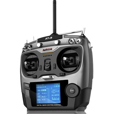 AT9 9CH Transmitter + R9D Receiver Mode 2 Combo
