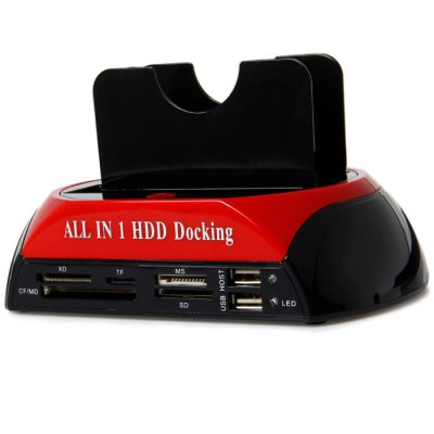 875 - J USB 2.0 All in 1 Dual HDD Docking