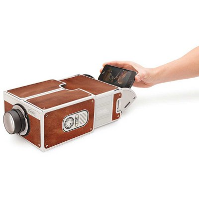 Creative High Brightness Cardboard Mobilephone Projector 2.0 Simple Installation Version for DIY Project Sioux Falls Продать вещи