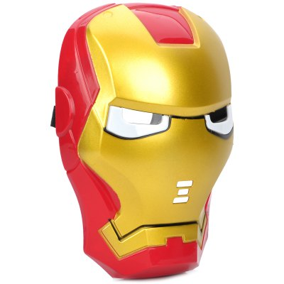 Cool Iron Man MaskBirthday Supplies<br>Cool Iron Man Mask<br><br>Color: Multi-color<br>For: Others, Lover, Kids, Sisters, Brothers, Teachers, Friends, Student<br>Material: PVC<br>Package Contents: 1 x  Mask, 3 x  Battery<br>Package Quantity: 1<br>Package size (L x W x H): 31.5 x 27 x 7 cm / 12.38 x 10.61 x 2.75 inches<br>Package weight: 0.195 kg<br>Product size (L x W x H): 19.5 x 17 x 6.5 cm / 7.66 x 6.68 x 2.55 inches<br>Product weight: 0.083 kg<br>Usage: Performance, Stage, Party, Others, Christmas