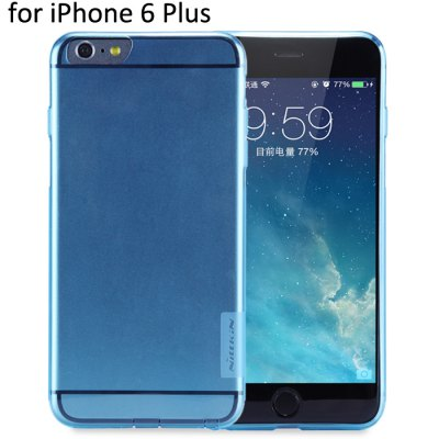 Nillkin Transparent TPU Phone Protective Back Cover Case with Ultrathin Design for iPhone 6 Plus - 5.5 inch