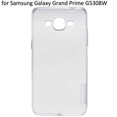 Nillkin Transparent TPU Phone Protective Back Cover Case with Ultrathin Design for Samsung Galaxy Grand Prime G5308W