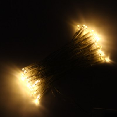 5M 50 LED String Light for Christmas Halloween Holiday ( 3W DC 4.5V 3 x AA Battery )