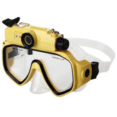 Diving Mask Glasses Underwater 720P HD Camera 2 in 1