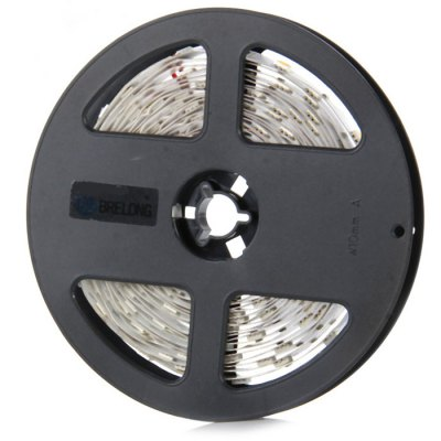 Brelong 5m SMD - 5050 LED Strip LightLED Strips<br>Brelong 5m SMD - 5050 LED Strip Light<br><br>Actual Lumens: 90Lm/W<br>Brand: BRELONG<br>CCT/Wavelength: 3000-3500K,6000-7000K<br>Connector Type: Wired<br>Features: Cuttable<br>Input Voltage: DC12<br>Length: 5m<br>Material: Epoxy Resin, FPC<br>Model: L10<br>Number of LEDs: 150 x SMD 5050<br>Optional Light Color: Warm White,Cold White<br>Package Contents: 1 x Brelong SMD 5050 LED Strip Light<br>Package size (L x W x H): 15 x 15 x 3 cm / 5.90 x 5.90 x 1.18 inches<br>Package weight: 0.134 kg<br>Product size (L x W x H): 13 x 13 x 1.2 cm / 5.11 x 5.11 x 0.47 inches<br>Product weight: 0.076 kg<br>Type: LED Strip