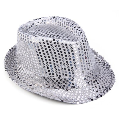 Paillette Jazz Hat for Christmas Party