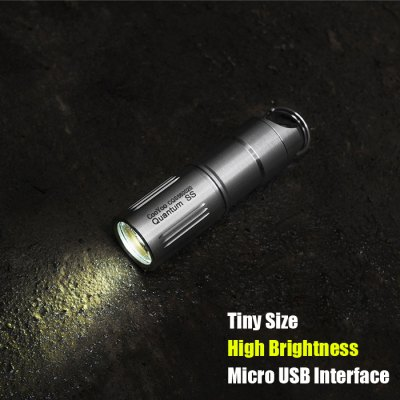CooYoo Quantum SS Mini LED Flashlight