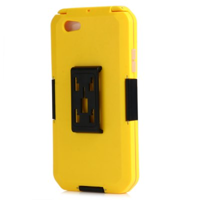 Sports Water Resistant CaseiPhone Cases/Covers<br>Sports Water Resistant Case<br><br>Color: Black,White,Yellow<br>Compatible for Apple: iPhone 6 Plus<br>Features: Dirt-resistant, Anti-knock, Waterproof Case, With Lanyard, With View Window, Cases with Stand, Sports and Outdoors, FullBody Cases<br>Material: Silicone, PC, TPE<br>Package Contents: 1 x Waterproof Case, 1 x Bike Holder, 1 x Lanyard, 1 x Belt, 1 x Mountaineering Buckle<br>Package size (L x W x H): 30.5 x 16.2 x 3.7 cm / 11.99 x 6.37 x 1.45 inches<br>Package weight: 0.310 kg<br>Product size (L x W x H): 17.7 x 9.7 x 1.6 cm / 6.96 x 3.81 x 0.63 inches<br>Product weight: 0.143 kg<br>Style: Modern
