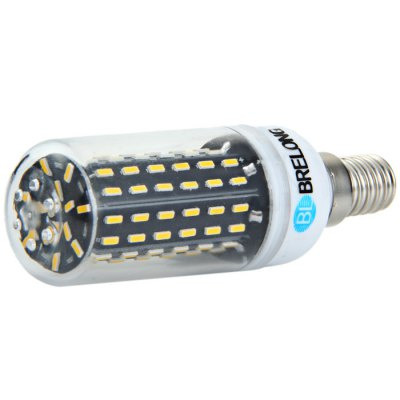 BRELONG E14 16W SMD 4014 LED Corn BulbCorn Bulbs<br>BRELONG E14 16W SMD 4014 LED Corn Bulb<br><br>Available Light Color: White,Warm White<br>Brand: BRELONG<br>CCT/Wavelength: 3000-3500K,6000-6500K<br>Emitter Types: SMD 4014<br>Features: Long Life Expectancy, Low Power Consumption<br>Function: Studio and Exhibition Lighting, Commercial Lighting, Home Lighting<br>Holder: E27,E14,G9<br>Luminous Flux: 1920Lm<br>Output Power: 16W<br>Package Contents: 1 x BRELONG E27 16W SMD 4014 LED Corn Bulb<br>Package size (L x W x H): 11.5 x 4.5 x 4.5 cm / 4.52 x 1.77 x 1.77 inches<br>Package weight: 0.067 kg<br>Product size (L x W x H): 9.5 x 3 x 3 cm / 3.73 x 1.18 x 1.18 inches<br>Product weight: 0.030 kg<br>Sheathing Material: Plastic<br>Total Emitters: 96<br>Type: Corn Bulbs<br>Voltage (V): AC 220-240