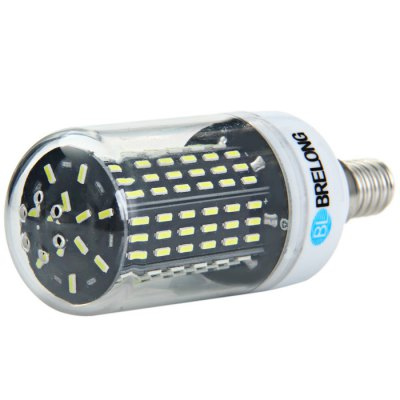 BRELONG E14 8W SMD 4014 LED Corn BulbCorn Bulbs<br>BRELONG E14 8W SMD 4014 LED Corn Bulb<br><br>Available Light Color: Warm White,White<br>Brand: BRELONG<br>CCT/Wavelength: 3000-3500K,6000-6500K<br>Emitter Types: SMD 4014<br>Features: Low Power Consumption, Long Life Expectancy<br>Function: Studio and Exhibition Lighting, Home Lighting, Commercial Lighting<br>Holder: E14,E27<br>Luminous Flux: 800Lm<br>Output Power: 8W<br>Package Contents: 1 x BRELONG E27 SMD 4014 LED Corn Bulb<br>Package size (L x W x H): 11.50 x 11.50 x 5.00 cm / 4.53 x 4.53 x 1.97 inches<br>Package weight: 0.080 kg<br>Product size (L x W x H): 10.50 x 3.50 x 3.50 cm / 4.13 x 1.38 x 1.38 inches<br>Product weight: 0.042 kg<br>Sheathing Material: Plastic<br>Total Emitters: 138<br>Type: Corn Bulbs<br>Voltage (V): AC 220-240
