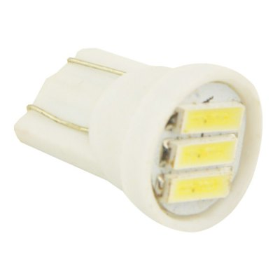 2pcs T10 0.7W Car Clearance LampCar Lights<br>2pcs T10 0.7W Car Clearance Lamp<br><br>Apply lamp position : External Lights<br>Connector: T10<br>Emitting color: White<br>Feature: Easy to use, Low Power Consumption<br>LED Type: SMD 7014<br>LED/Bulb quantity: 3<br>Lumens: 50lm<br>Package Contents: 2 x Light<br>Package size (L x W x H): 13.00 x 8.50 x 3.50 cm / 5.12 x 3.35 x 1.38 inches<br>Package weight: 0.060 kg<br>Power: 0.7W<br>Product size (L x W x H): 1.60 x 1.10 x 1.10 cm / 0.63 x 0.43 x 0.43 inches<br>Product weight: 0.002 kg<br>Type: Clearance Lights<br>Type of lamp-house : LED<br>Voltage: 12V