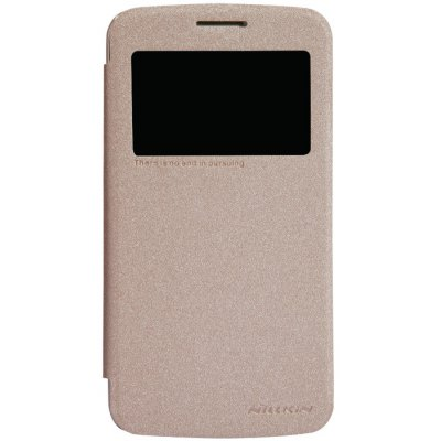 Nillkin View Window Design Phone Protective Cover Case with PU Leather and PC Material for Samsung Grand 2 G7106