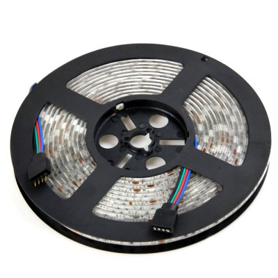 Brelong 5m SMD 5050 RGB Light StripLED Strips<br>Brelong 5m SMD 5050 RGB Light Strip<br><br>Brand: BRELONG<br>Connector Type: 4PIN<br>Features: Waterproof, Remote Control, Cuttable, IP-65<br>Input Voltage: DC12<br>Length: 5m<br>Material: Silicone, FPC<br>Model: L40<br>Number of LEDs: 300 x SMD 5050<br>Optional Light Color: RGB<br>Package Contents: 1 x Brelong SMD 5050 LED Strip Light, 1 x Control Box, 1 x Remote Controller (Battery Included), 1 x DC Cable, 1 x English Manual<br>Package size (L x W x H): 18 x 18 x 4.5 cm / 7.07 x 7.07 x 1.77 inches<br>Package weight: 0.357 kg<br>Product size (L x W x H): 15.8 x 15.8 x 1.2 cm / 6.21 x 6.21 x 0.47 inches<br>Product weight: 0.212 kg<br>Type: LED Strip