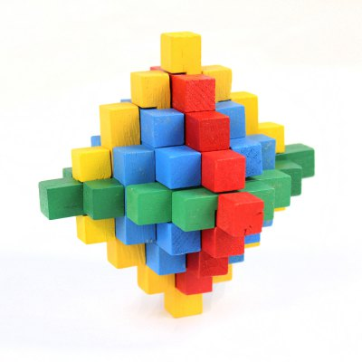 3D Puzzle Novelty Wooden Unlock Toy for Intelligence DevelopmentPuzzle &amp; Educational<br>3D Puzzle Novelty Wooden Unlock Toy for Intelligence Development<br><br>Age: 3 Years+<br>Applicable gender: Unisex<br>Design Style: Other<br>Features: Educational<br>Material: Wood<br>Package Contents: 1 x Toy<br>Package size (L x W x H): 13 x 13 x 13 cm / 5.11 x 5.11 x 5.11 inches<br>Package weight: 0.212 kg<br>Product size (L x W x H): 11 x 11 x 11 cm / 4.32 x 4.32 x 4.32 inches<br>Product weight: 0.124 kg<br>Puzzle Style: 3D Puzzle<br>Small Parts : No<br>Type: Intelligence toys<br>Washing: No
