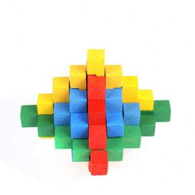 3D Puzzle Novelty Wooden Unlock Toy for Intelligence Development