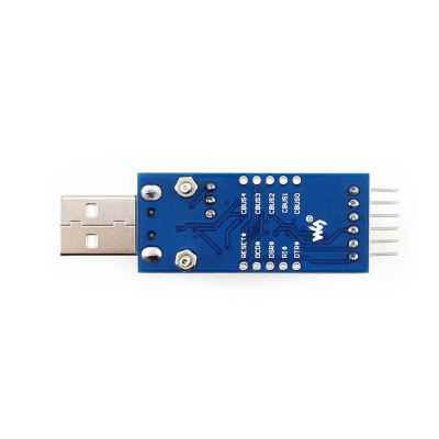 Waveshare FT232 USB to Serial Port / TTL FT232R FT232RL Board VCC Output Level Selection JumperPower<br>Waveshare FT232 USB to Serial Port / TTL FT232R FT232RL Board VCC Output Level Selection Jumper<br><br>Package Contents: 1 x Waveshare FT232 USB to Serial Port / TTL FT232R FT232RL Board<br>Package Size(L x W x H): 10 x 3 x 1 cm / 3.93 x 1.18 x 0.39 inches<br>Package weight: 0.086 kg<br>Product Size(L x W x H): 4.4 x 1.9 x 0.5 cm / 1.73 x 0.75 x 0.20 inches<br>Product weight: 0.028 kg<br>Type: Communication