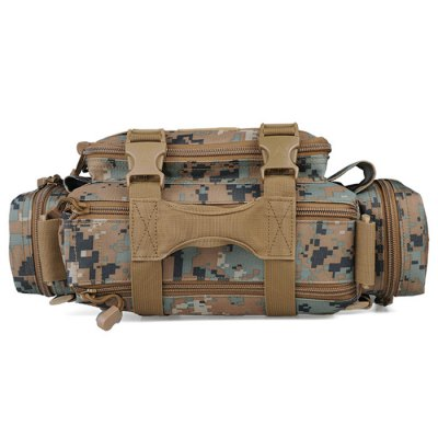 Viperade Multifunctional Quick Release Waist BagDuffel Bags<br>Viperade Multifunctional Quick Release Waist Bag<br><br>Brand: VIPERADE<br>Color: ACU Camouflage,Army green,Bionic Camouflage,Black,Brown,CP,Desert Digital Camouflage,Desert Python Pattern,Forest Digital Camouflage,Jungle Python Pattern,Three Sand Camouflage<br>Features: Tactical Style<br>For: Camping, Climbing, Cycling, Hiking, Other<br>Material: Oxford Fabric<br>Package Contents: 1 x Viperade Waist Bag<br>Package size (L x W x H): 38.00 x 20.00 x 12.00 cm / 14.96 x 7.87 x 4.72 inches<br>Package weight: 0.770 kg<br>Product size (L x W x H): 35.00 x 18.00 x 9.50 cm / 13.78 x 7.09 x 3.74 inches<br>Product weight: 0.660 kg<br>Type: Waist Bag