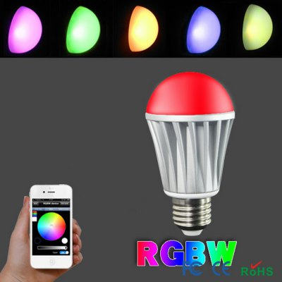 Smart LED E27 Bulb Bluetooth 4.0Smart Lighting<br>Smart LED E27 Bulb Bluetooth 4.0<br><br>Bluetooth Version: 4.0<br>Bulb Base Type: E27<br>Color Temperature: 2700 - 3200K<br>Lumen: 500Lm - 550Lm<br>Operating system: Android 4.3 or above and any iOS<br>Package Contents: 1 x Bulb, 1 x English User Munual<br>Package Size ( L x W x H ): 7.50 x 7.50 x 14.00 cm / 2.95 x 2.95 x 5.51 inches<br>Package weight: 0.1800 kg<br>Power: 7W<br>Product Size  ( L x W x H ): 6.00 x 6.00 x 10.90 cm / 2.36 x 2.36 x 4.29 inches<br>Product weight: 0.1170 kg