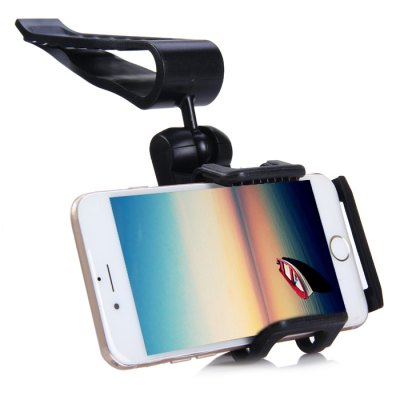 360 Degree Rotatable Phone Holder Bracket with Visor ClipStands &amp; Holders<br>360 Degree Rotatable Phone Holder Bracket with Visor Clip<br><br>Color: Black<br>Features: Rotatable<br>Mainly Compatible with: MP4, Samsung S6 Edge Plus, iPhone 5C, iPhone 4/4S, iPhone 6S, iPhone 6, iPhone 5/5S, Samsung S6, HTC One M9, Samsung Note 5, GPS<br>Material: Plastic<br>Package Contents: 1 x Phone Holder<br>Package size (L x W x H): 8 x 7.5 x 13 cm / 3.14 x 2.95 x 5.11 inches<br>Package weight: 0.196 kg<br>Product size (L x W x H): 7 x 6 x 12 cm / 2.75 x 2.36 x 4.72 inches<br>Product weight: 0.113 kg<br>Type: Clip Stand, Car Stand, In-Car, Mobile Holder