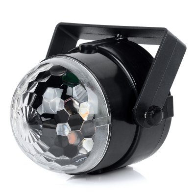 EXLED 4W Colorful Crystal Magic Ball LED Stage Light + Cigarette LighterStage Lighting<br>EXLED 4W Colorful Crystal Magic Ball LED Stage Light + Cigarette Lighter<br><br>Body Color: Black<br>Brand: EXLED<br>Function: For Decoration<br>Laser Color: RGB Light<br>Output Power (W): 4W<br>Package Contents: 1 x Magic Ball Laser Light, 1 x Cigarette Lighter (Cable Length: 6M)<br>Package size (L x W x H): 11 x 10 x 11 cm / 4.32 x 3.93 x 4.32 inches<br>Package weight: 0.290 kg<br>Product Size(L x W x H): 9 x 9 x 9.5 cm / 3.54 x 3.54 x 3.73 inches<br>Product weight: 0.236 kg<br>Shape: Ball Light<br>Type: Laser Light