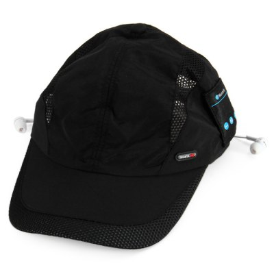 Taslon Bluetooth Headphone Baseball Cap with Set-in MIC