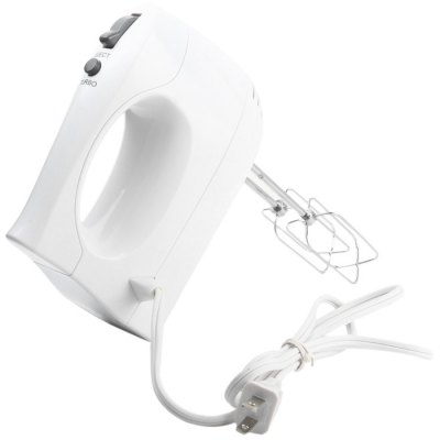 Essential Needs YD - HM - 912 5 Speed Hand MixerOthers<br>Essential Needs YD - HM - 912 5 Speed Hand Mixer<br><br>Brand: Essential Needs<br>Color: White<br>Material: Electronic Components, Stainless Steel<br>Model: YD - HM - 912<br>Package Contents: 1 x Mixer, 2 x Egg Rod, 1 x English User Manual<br>Package size (L x W x H): 21.00 x 10.00 x 21.00 cm / 8.27 x 3.94 x 8.27 inches<br>Package weight: 1.080 kg<br>Product size (L x W x H): 19.00 x 13.00 x 6.00 cm / 7.48 x 5.12 x 2.36 inches<br>Product weight: 0.768 kg